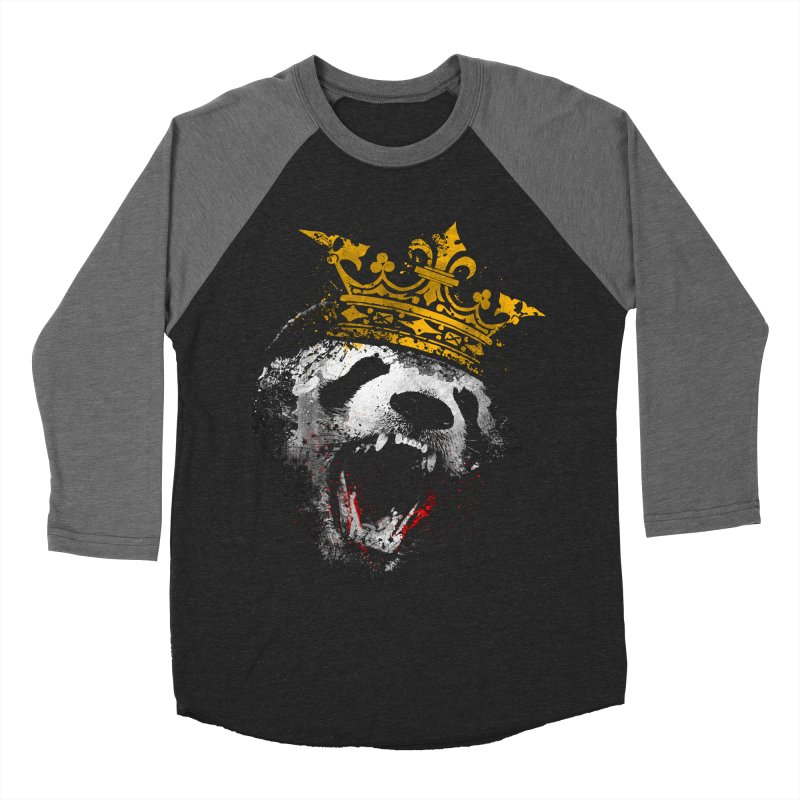 King Panda Women's Baseball Triblend T-Shirt by clingcling's Artist Shop