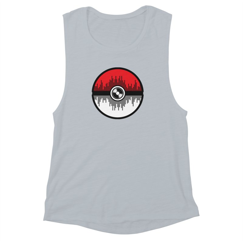 Poke and Sound (version 2) Women's Muscle Tank by clingcling's Artist Shop