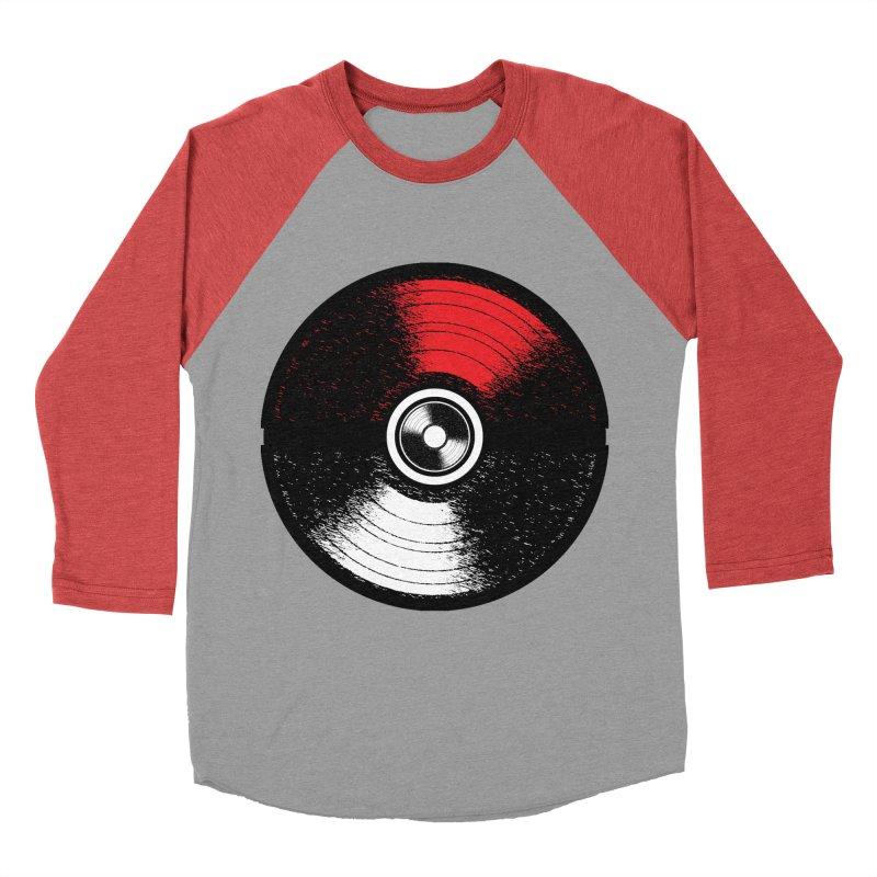 Poke Music Women's Baseball Triblend T-Shirt by clingcling's Artist Shop
