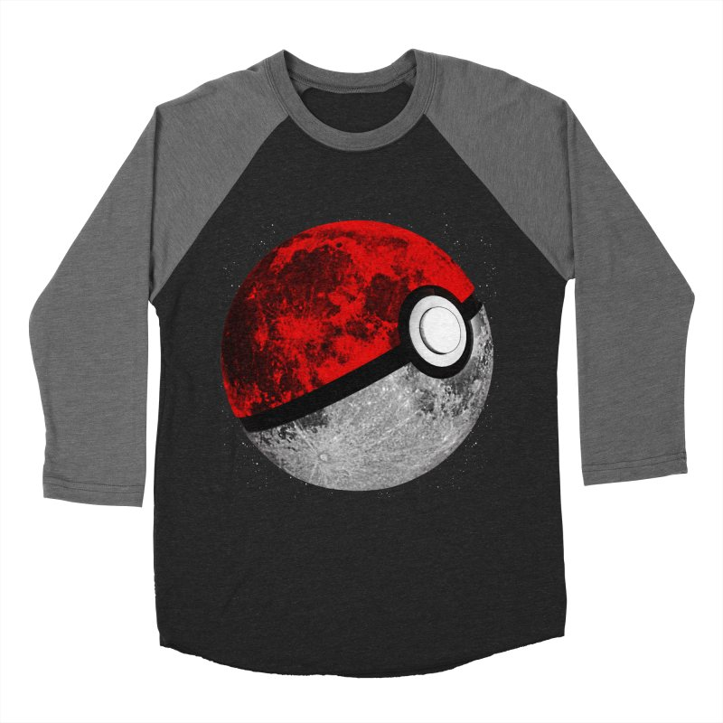 Pokemoon Men's Baseball Triblend T-Shirt by clingcling's Artist Shop