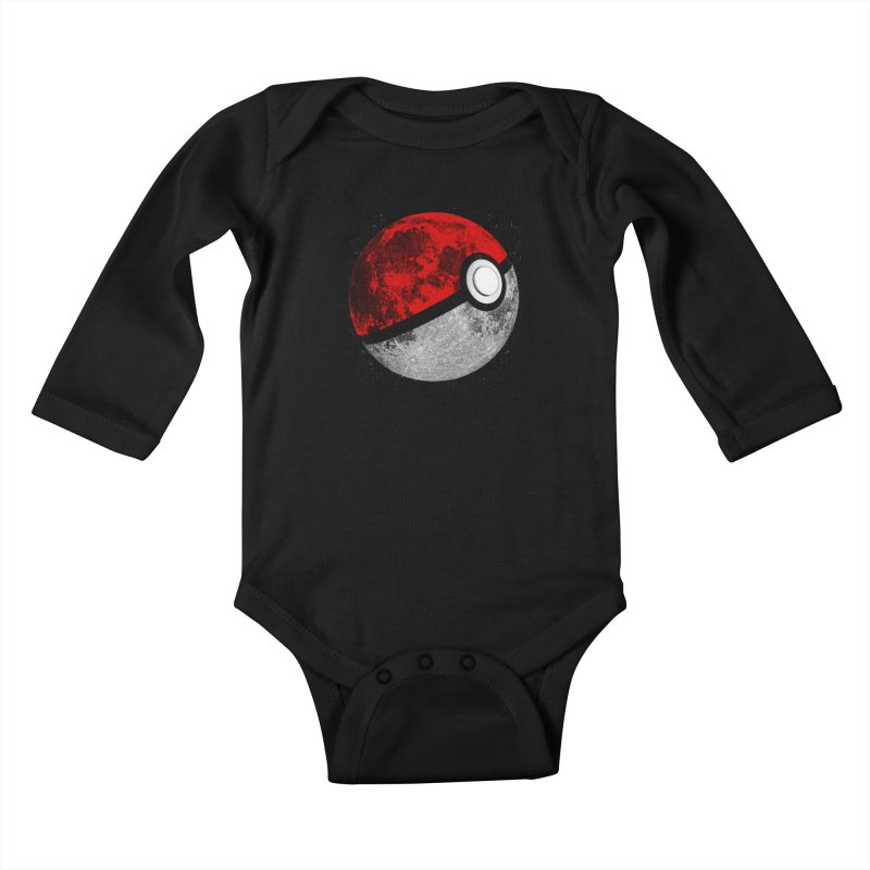 Pokemoon Kids Baby Longsleeve Bodysuit by clingcling's Artist Shop