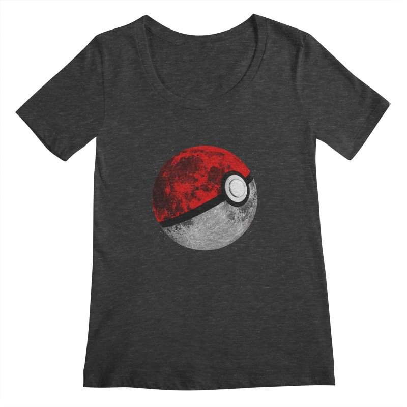 Pokemoon Women's Scoopneck by clingcling's Artist Shop