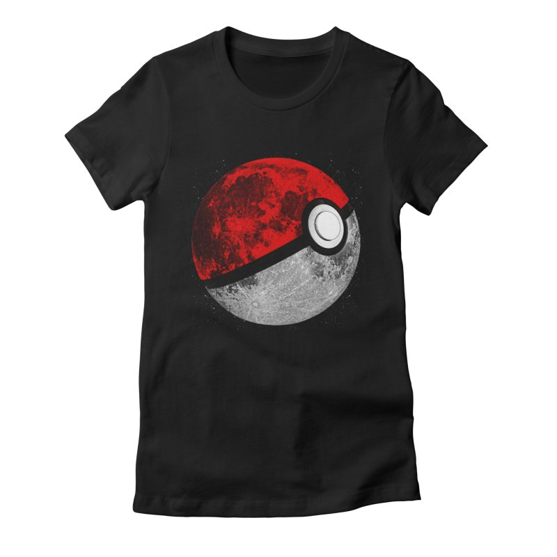 Pokemoon Women's Fitted T-Shirt by clingcling's Artist Shop