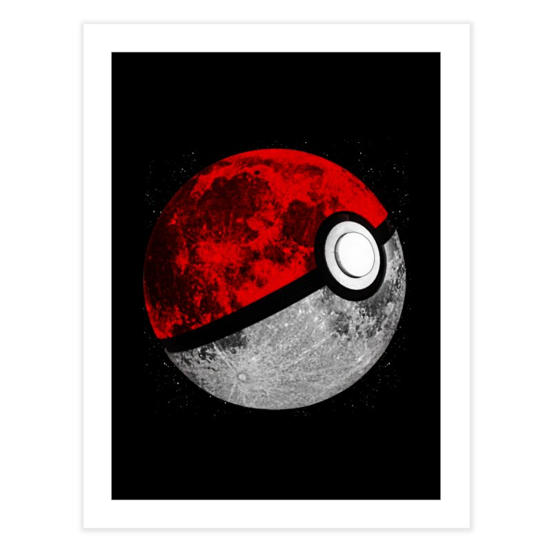 Pokemoon Home Fine Art Print by clingcling's Artist Shop