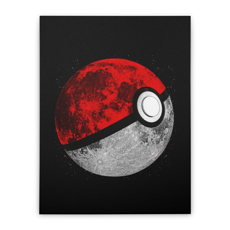 Pokemoon Home Stretched Canvas by clingcling's Artist Shop