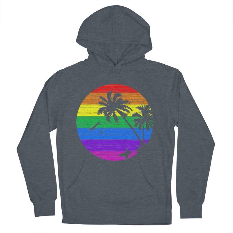 Rainbow Summer Women's Pullover Hoody by clingcling's Artist Shop