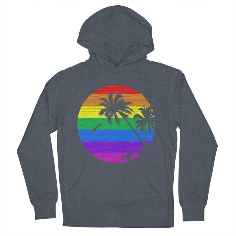 Rainbow Summer Men's Pullover Hoody by clingcling's Artist Shop