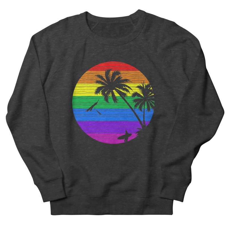 Rainbow Summer Men's Sweatshirt by clingcling's Artist Shop