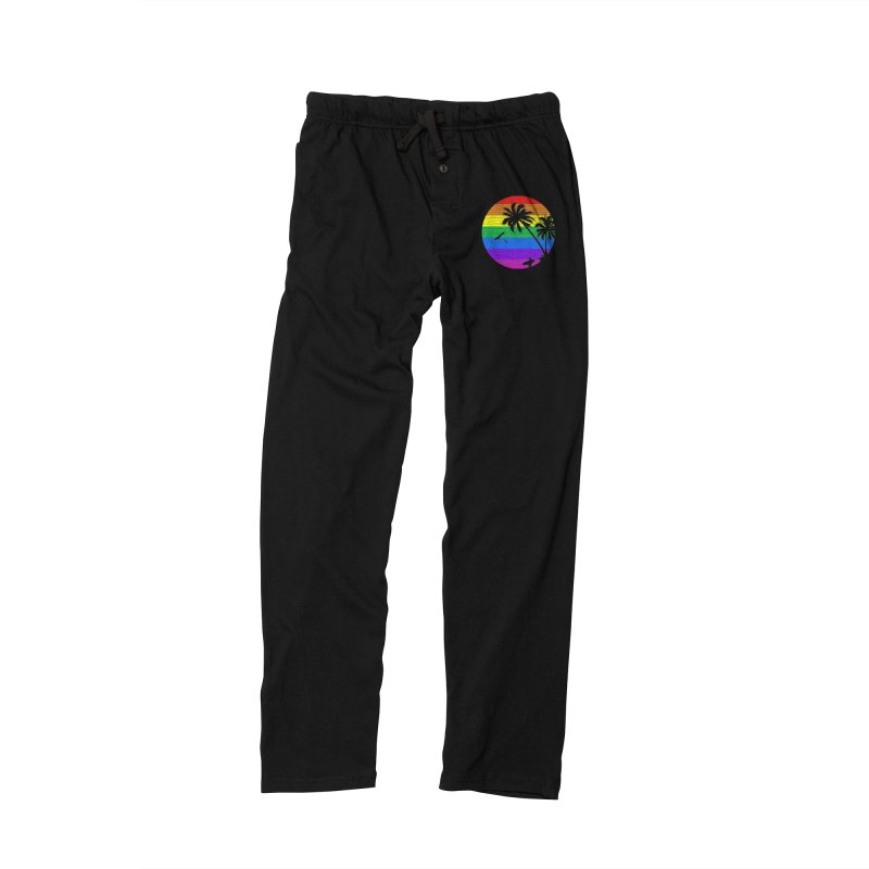 Rainbow Summer Women's Lounge Pants by clingcling's Artist Shop