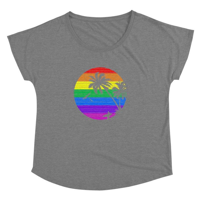 Rainbow Summer Women's Dolman by clingcling's Artist Shop