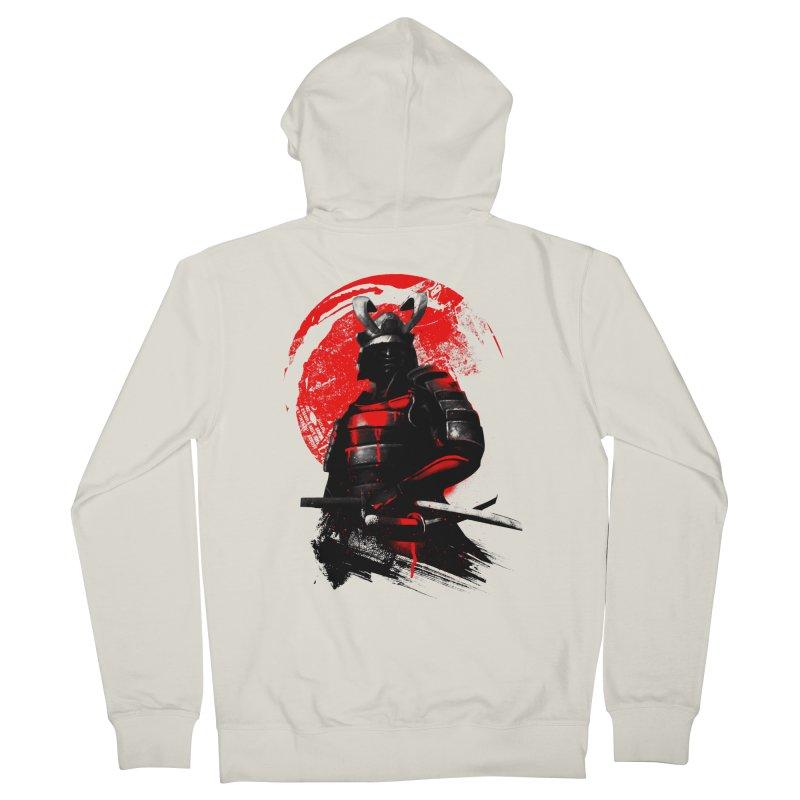 Samurai Men's Zip-Up Hoody by clingcling's Artist Shop