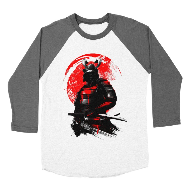 Samurai Men's Baseball Triblend T-Shirt by clingcling's Artist Shop