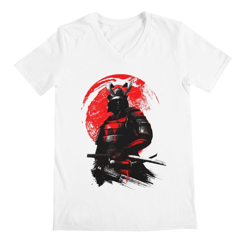 Samurai Men's V-Neck by clingcling's Artist Shop