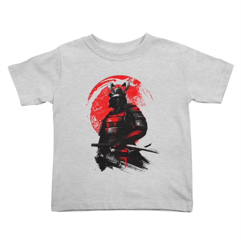 Samurai Kids Toddler T-Shirt by clingcling's Artist Shop