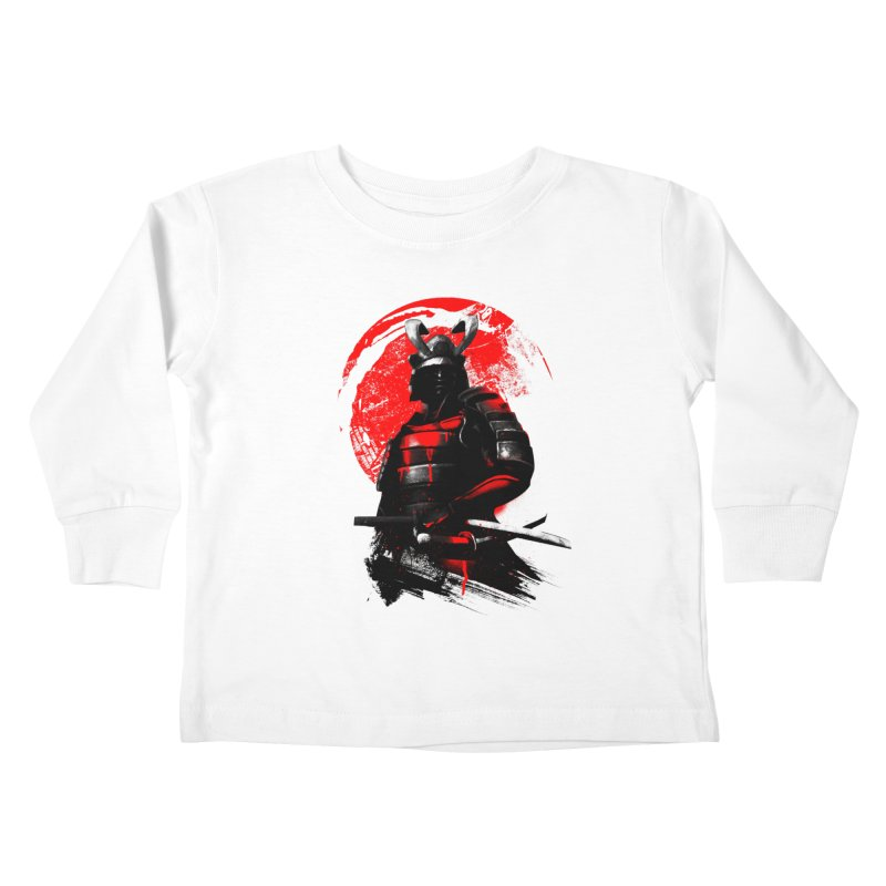 Samurai Kids Toddler Longsleeve T-Shirt by clingcling's Artist Shop