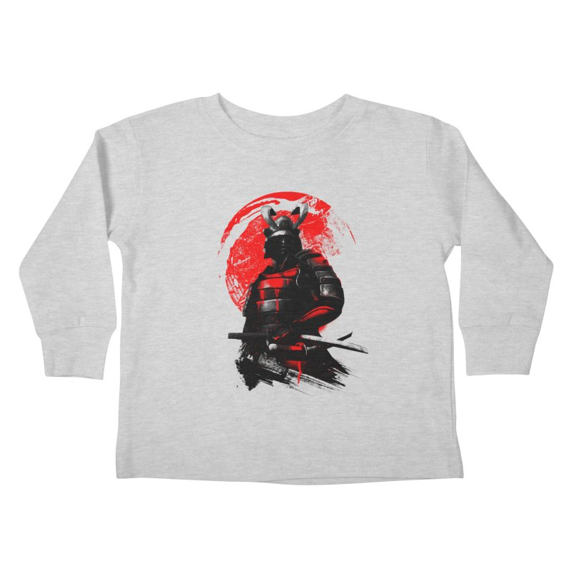 Samurai Kids Toddler Longsleeve T-Shirt by clingcling's Artist Shop