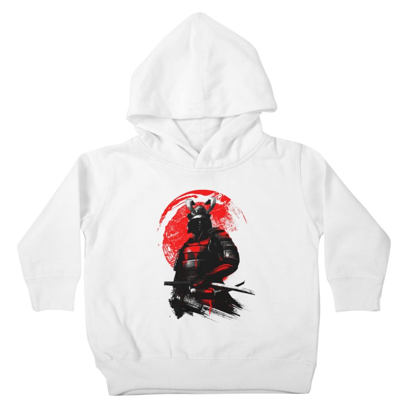 Samurai Kids Toddler Pullover Hoody by clingcling's Artist Shop