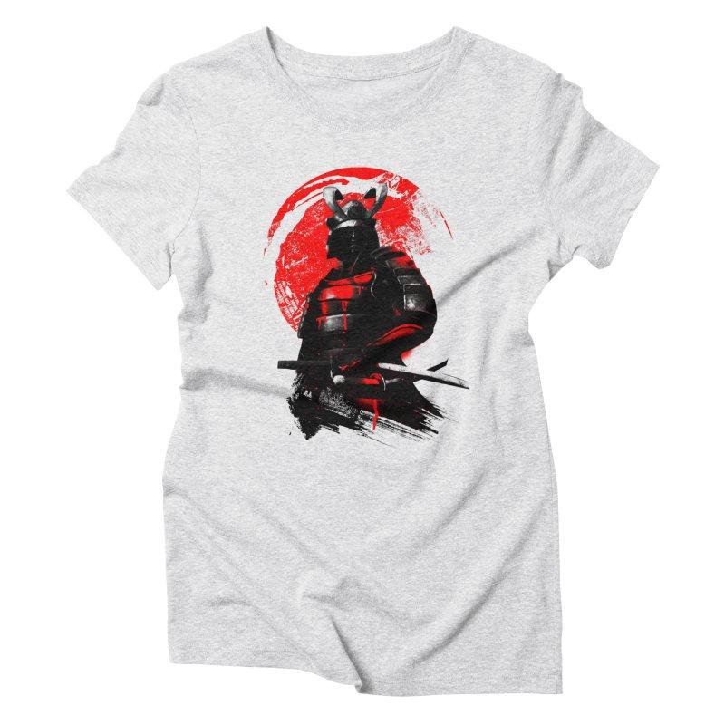 Samurai Women's Triblend T-shirt by clingcling's Artist Shop