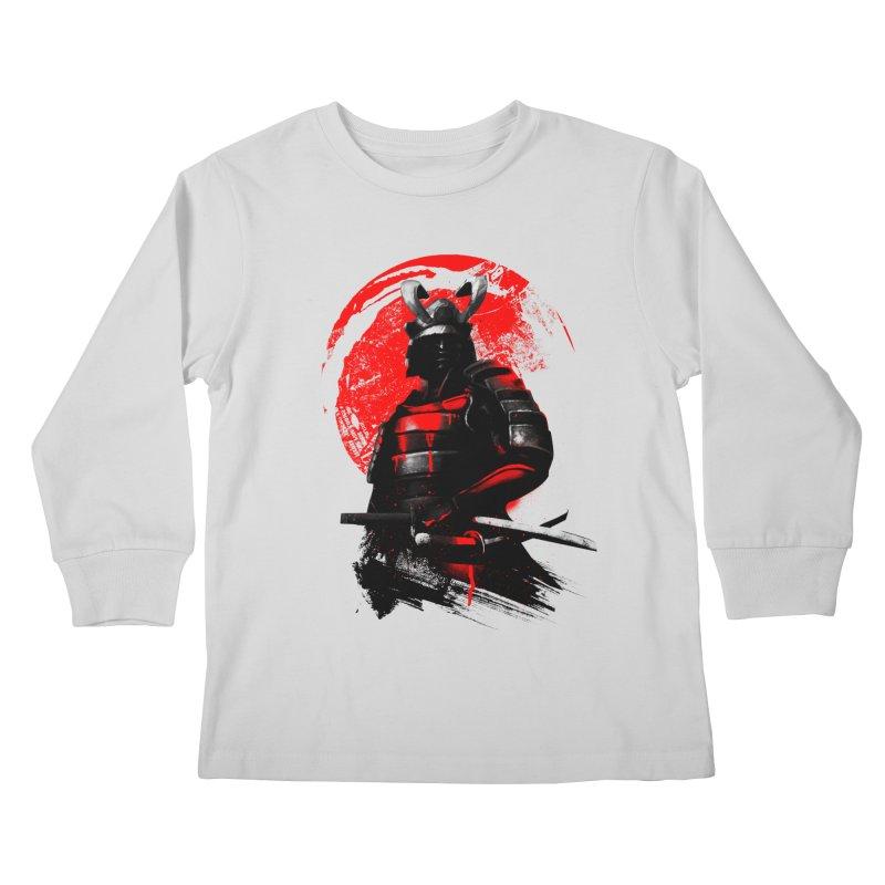Samurai Kids Longsleeve T-Shirt by clingcling's Artist Shop