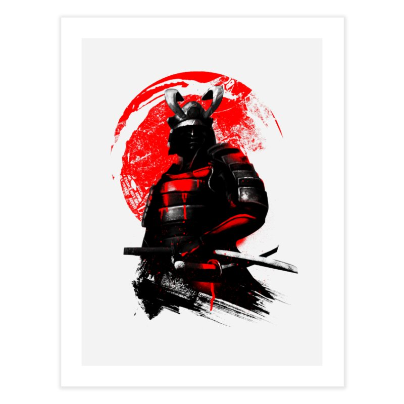 Samurai Home Fine Art Print by clingcling's Artist Shop
