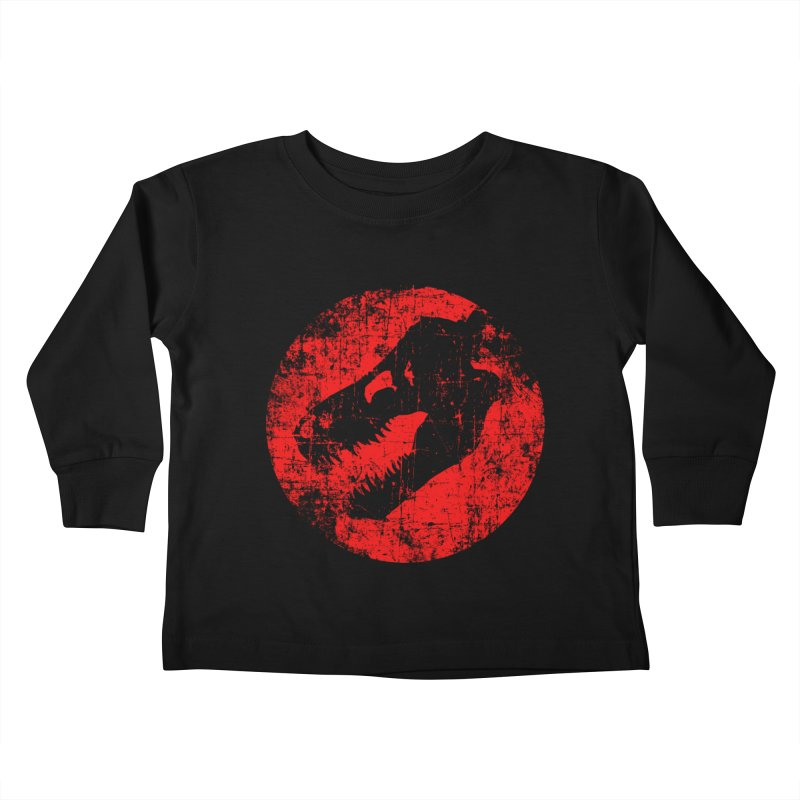 The Fossils Kids Toddler Longsleeve T-Shirt by clingcling's Artist Shop