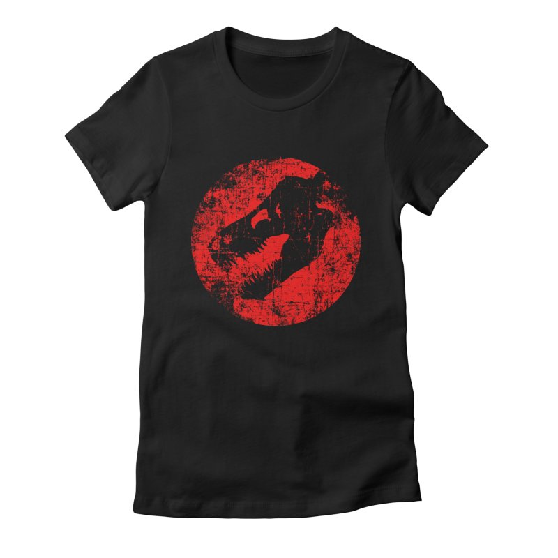 The Fossils Women's Fitted T-Shirt by clingcling's Artist Shop