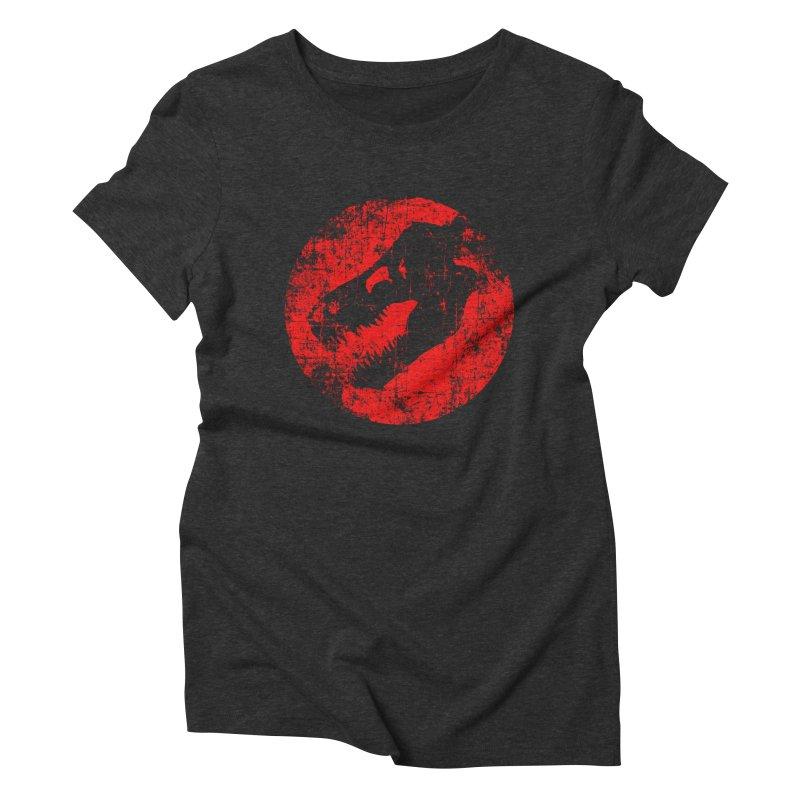 The Fossils Women's Triblend T-shirt by clingcling's Artist Shop
