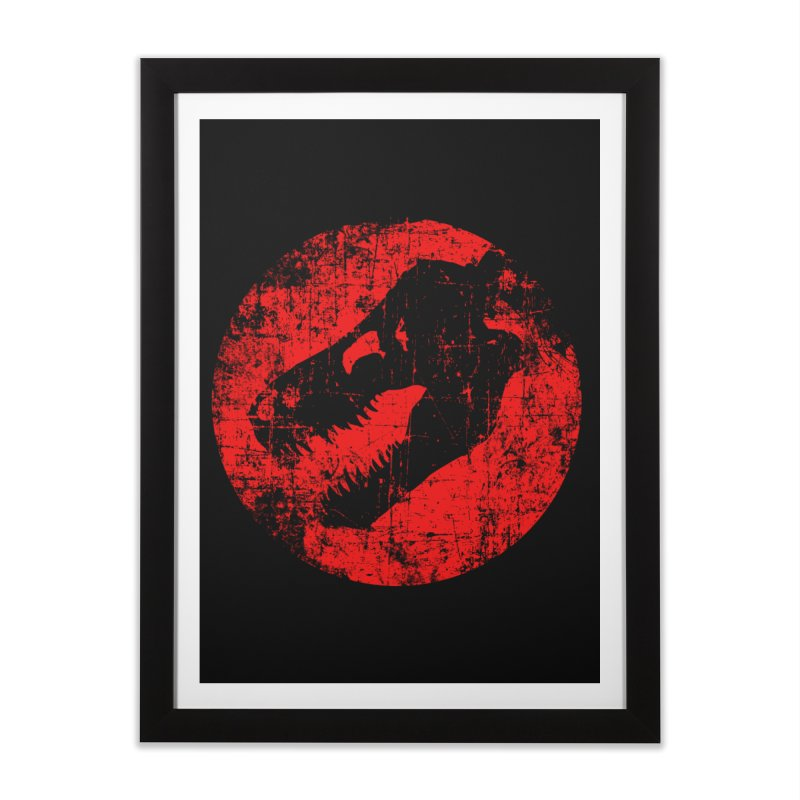 The Fossils Home Framed Fine Art Print by clingcling's Artist Shop