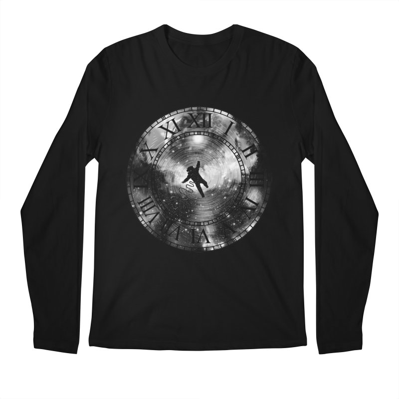Space Time Men's Longsleeve T-Shirt by clingcling's Artist Shop