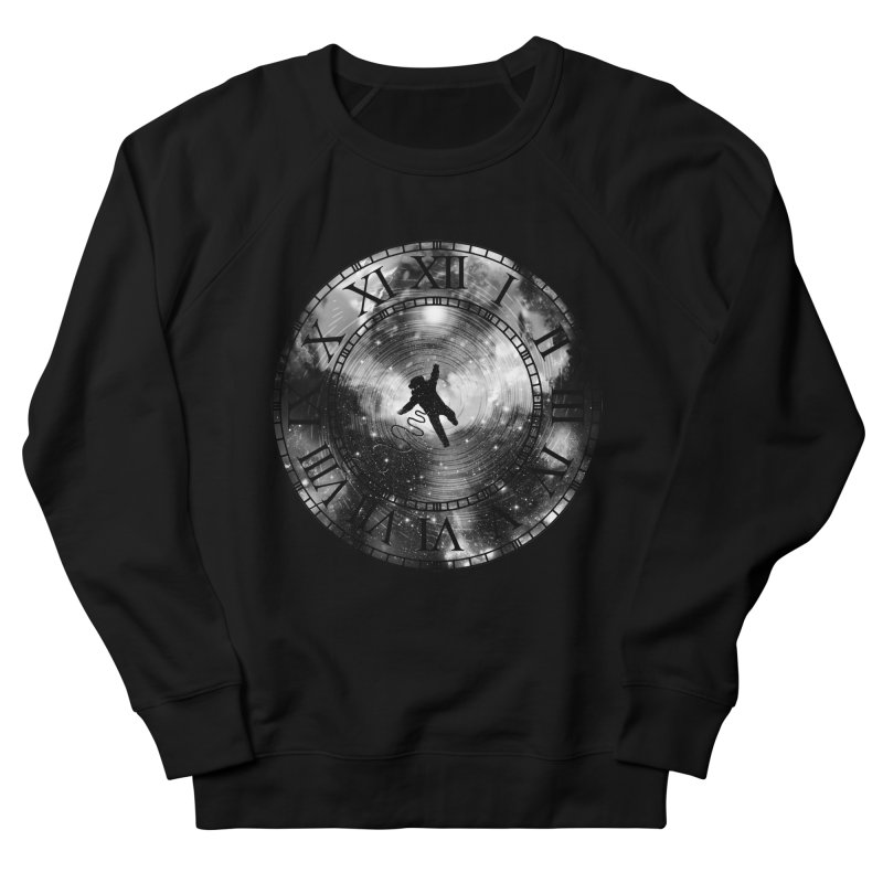 Space Time Men's Sweatshirt by clingcling's Artist Shop