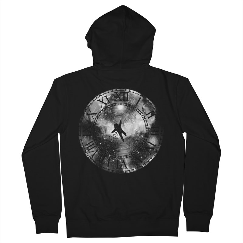 Space Time Men's Zip-Up Hoody by clingcling's Artist Shop