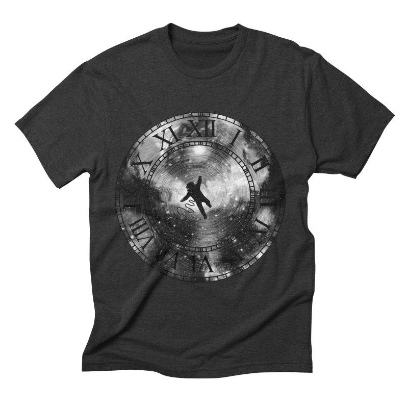 Space Time Men's Triblend T-shirt by clingcling's Artist Shop