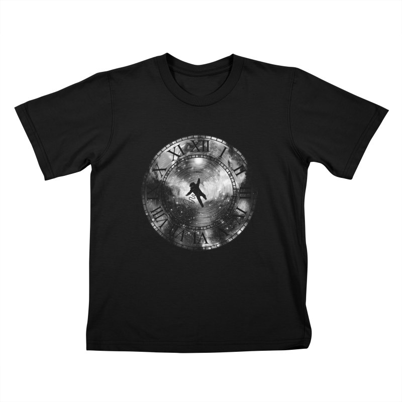Space Time Kids T-Shirt by clingcling's Artist Shop