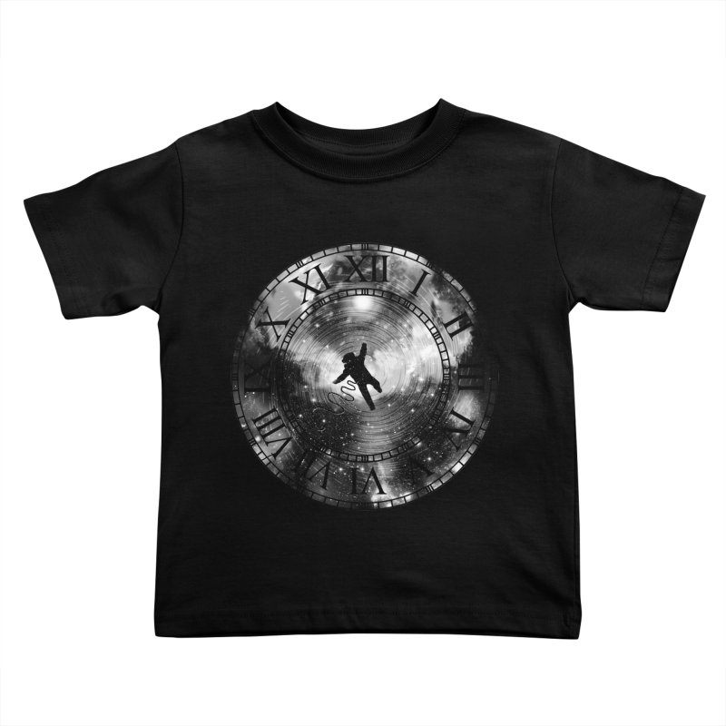 Space Time Kids Toddler T-Shirt by clingcling's Artist Shop