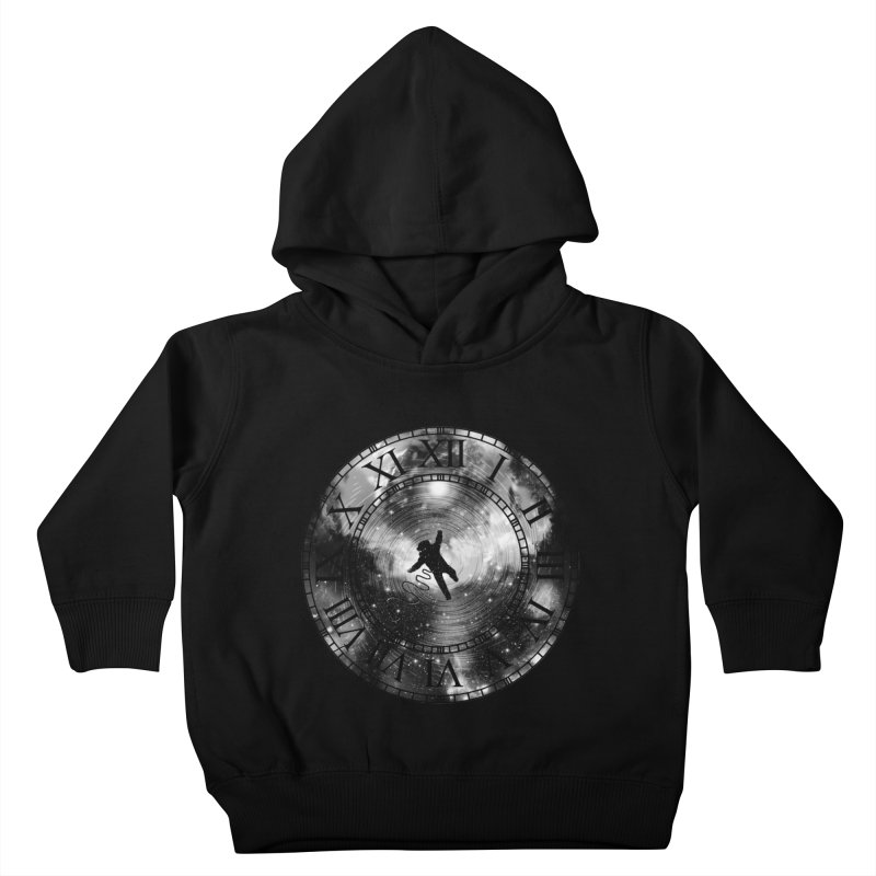 Space Time Kids Toddler Pullover Hoody by clingcling's Artist Shop