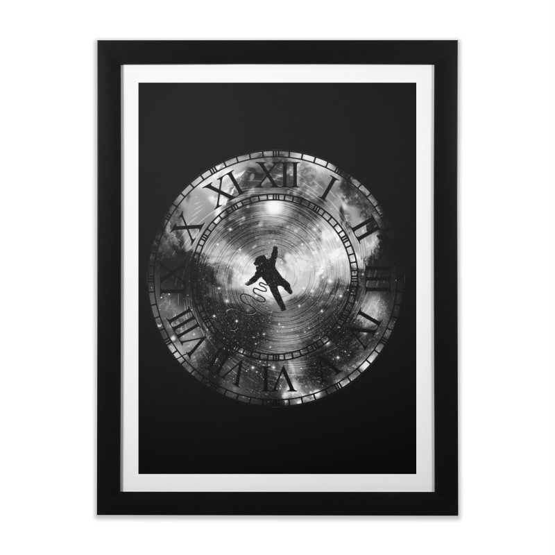 Space Time Home Framed Fine Art Print by clingcling's Artist Shop
