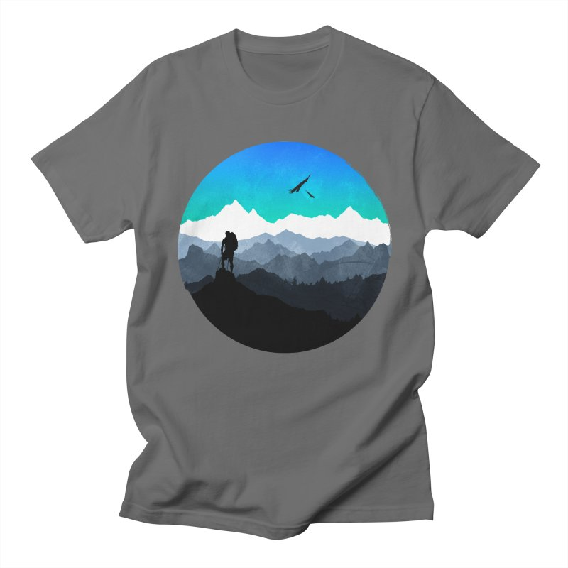 Top of the world Men's T-Shirt by clingcling's Artist Shop
