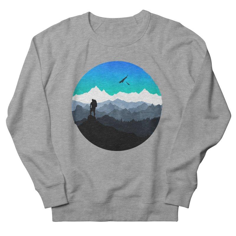 Top of the world Men's Sweatshirt by clingcling's Artist Shop