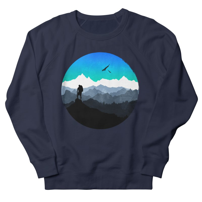 Top of the world Men's Sweatshirt by clingcling's Artist Shop