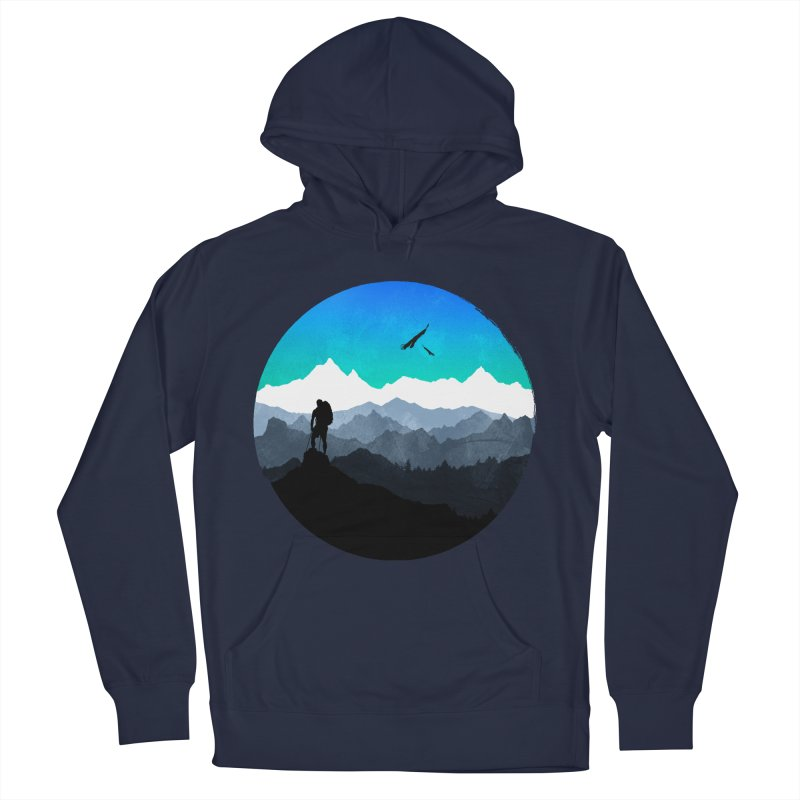 Top of the world Women's Pullover Hoody by clingcling's Artist Shop