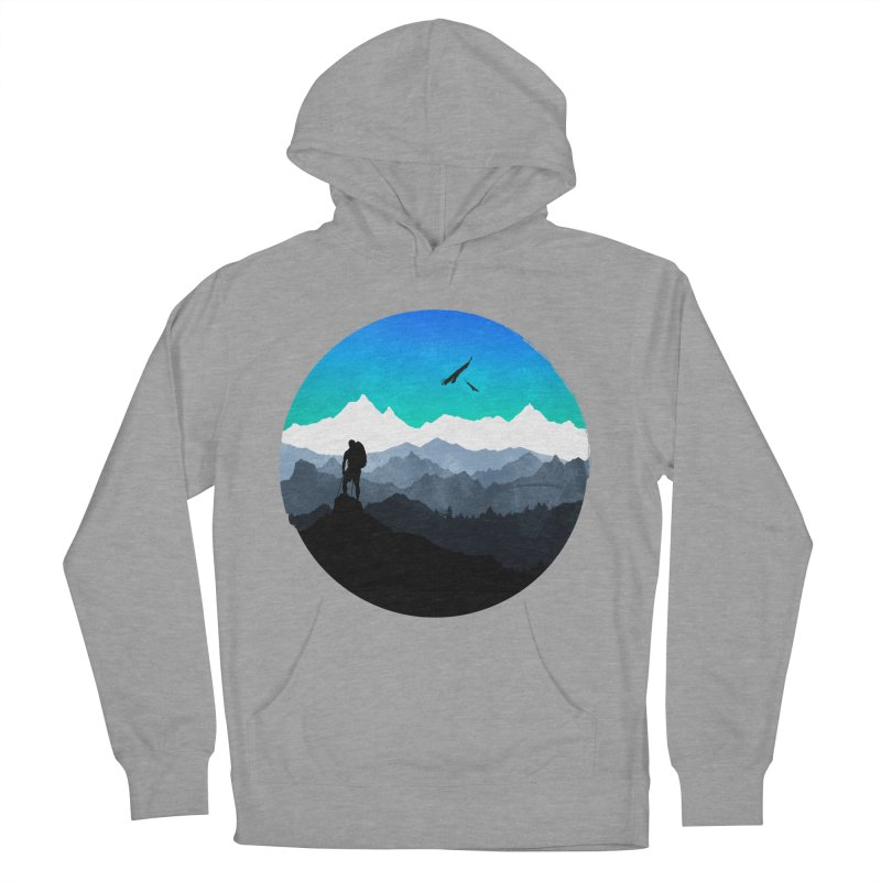 Top of the world Men's Pullover Hoody by clingcling's Artist Shop