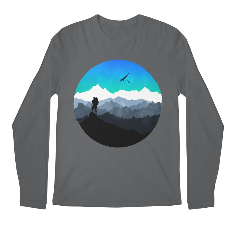 Top of the world Men's Longsleeve T-Shirt by clingcling's Artist Shop