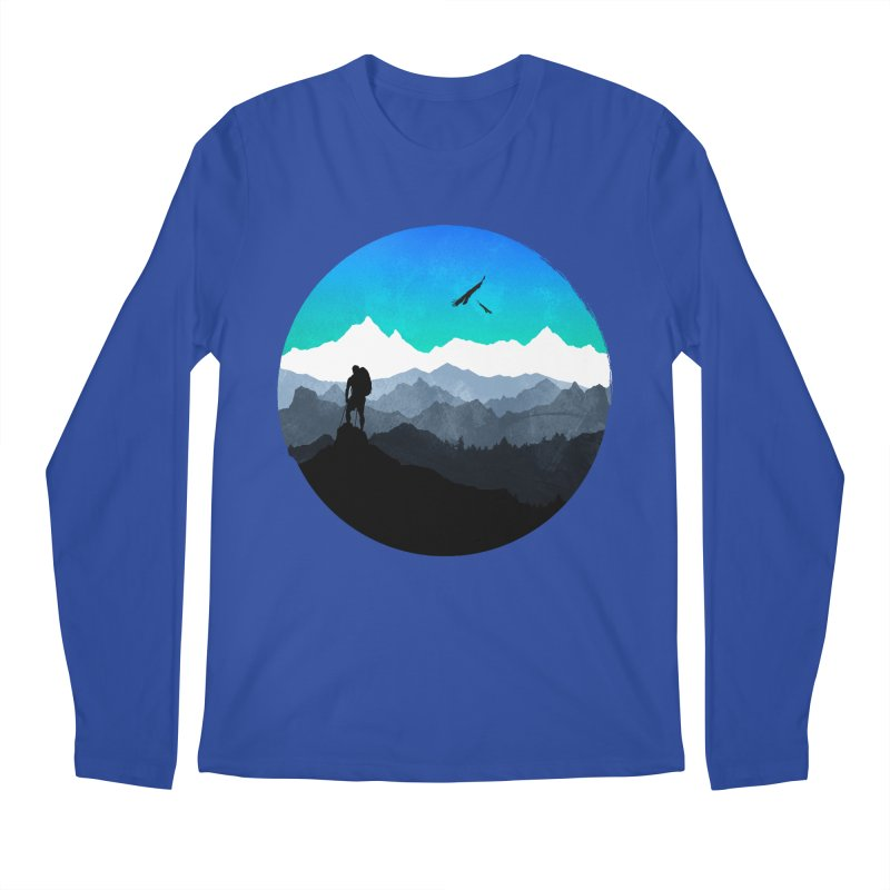 Top of the world Men's Longsleeve T-Shirt by clingcling's Artist Shop