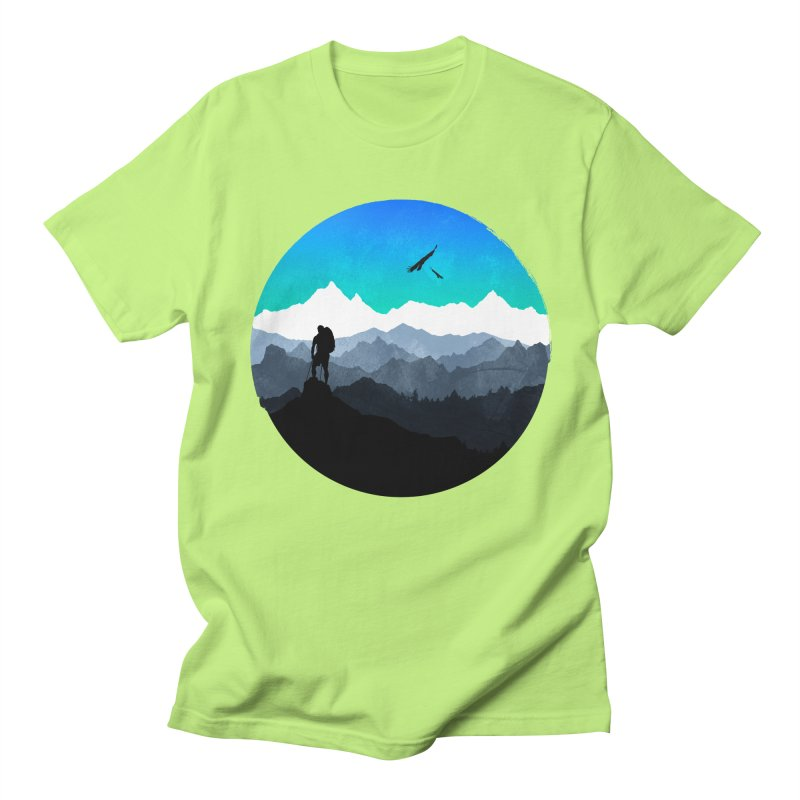 Top of the world Men's T-Shirt by clingcling's Artist Shop