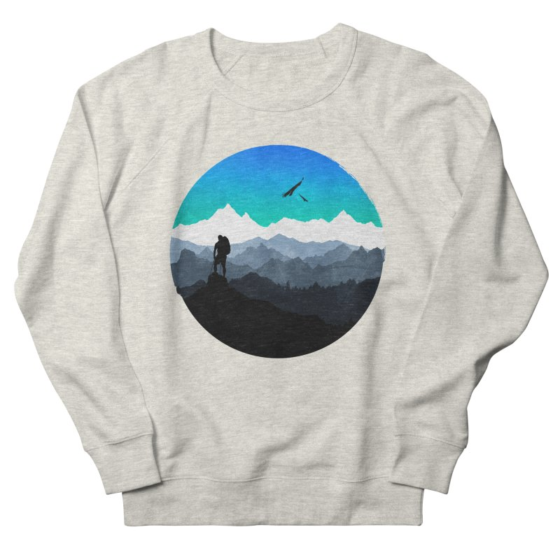 Top of the world Women's Sweatshirt by clingcling's Artist Shop