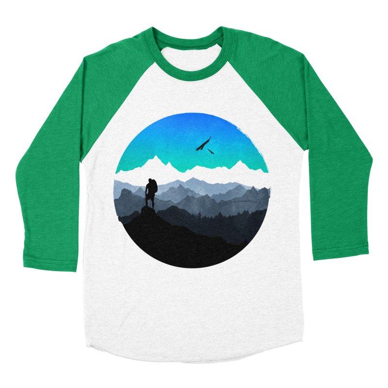 Top of the world Women's Baseball Triblend T-Shirt by clingcling's Artist Shop