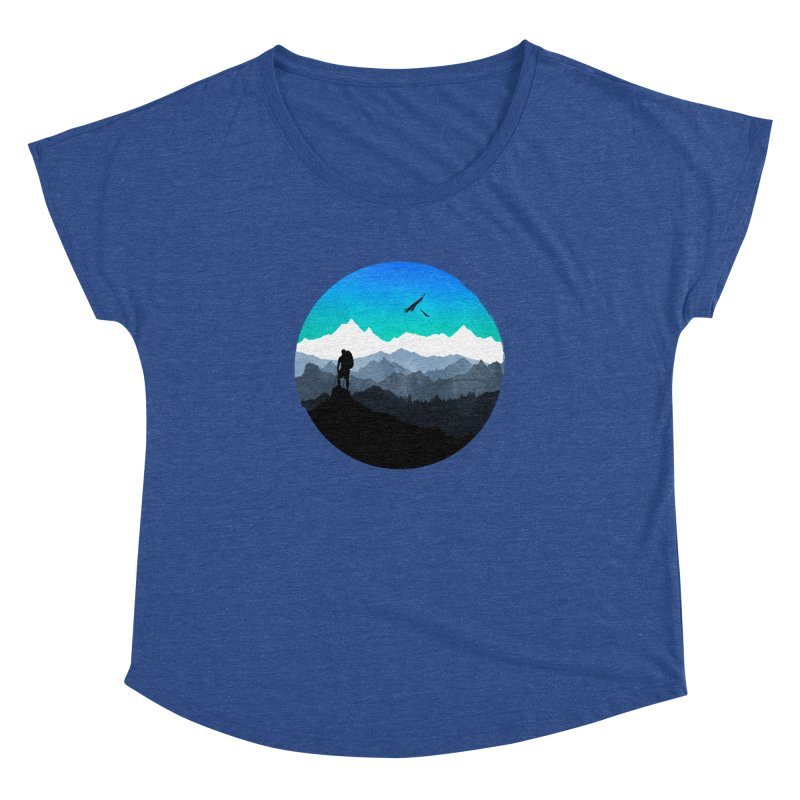 Top of the world Women's Dolman by clingcling's Artist Shop