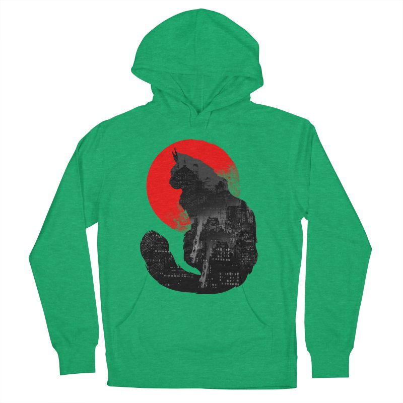 Urban Cat Men's Pullover Hoody by clingcling's Artist Shop