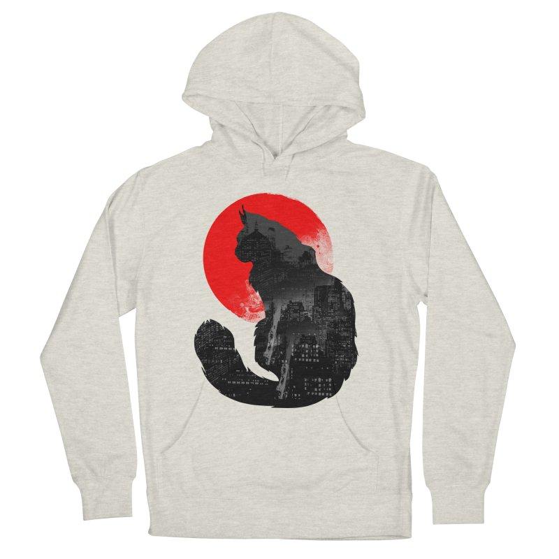 Urban Cat Men's Pullover Hoody by clingcling's Artist Shop