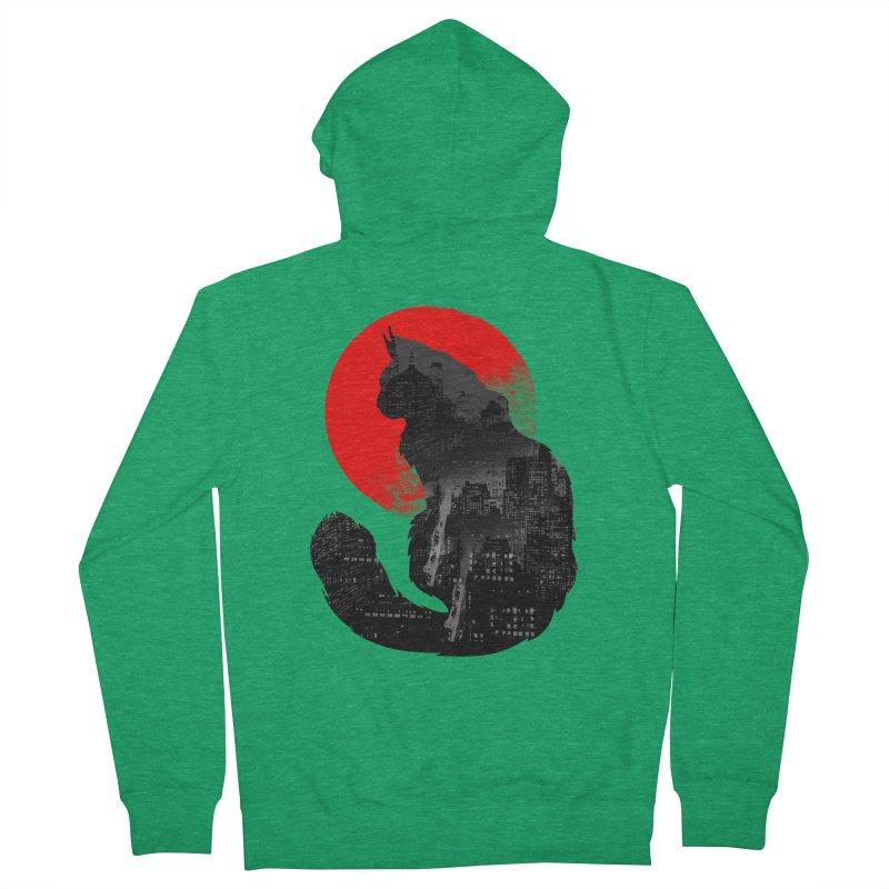 Urban Cat Women's Zip-Up Hoody by clingcling's Artist Shop